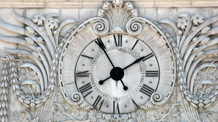 Relógio Arco de Arco da Rua Augusta