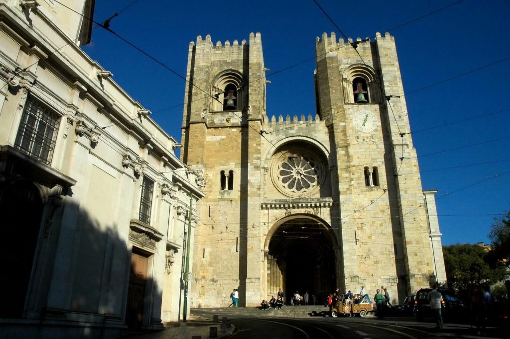 Sé de Lisboa Fachada