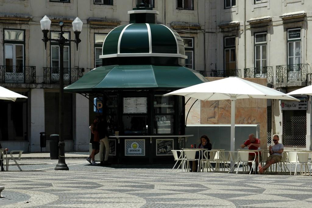 Quiosque Banana e Cafés Praça Município