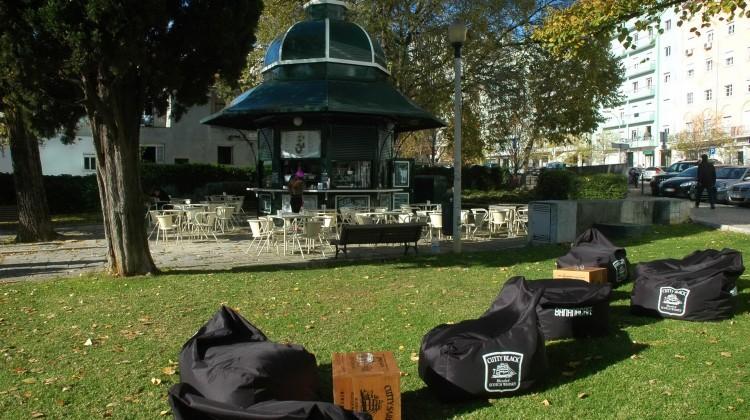 Esplanada quiosque Praça de Londres