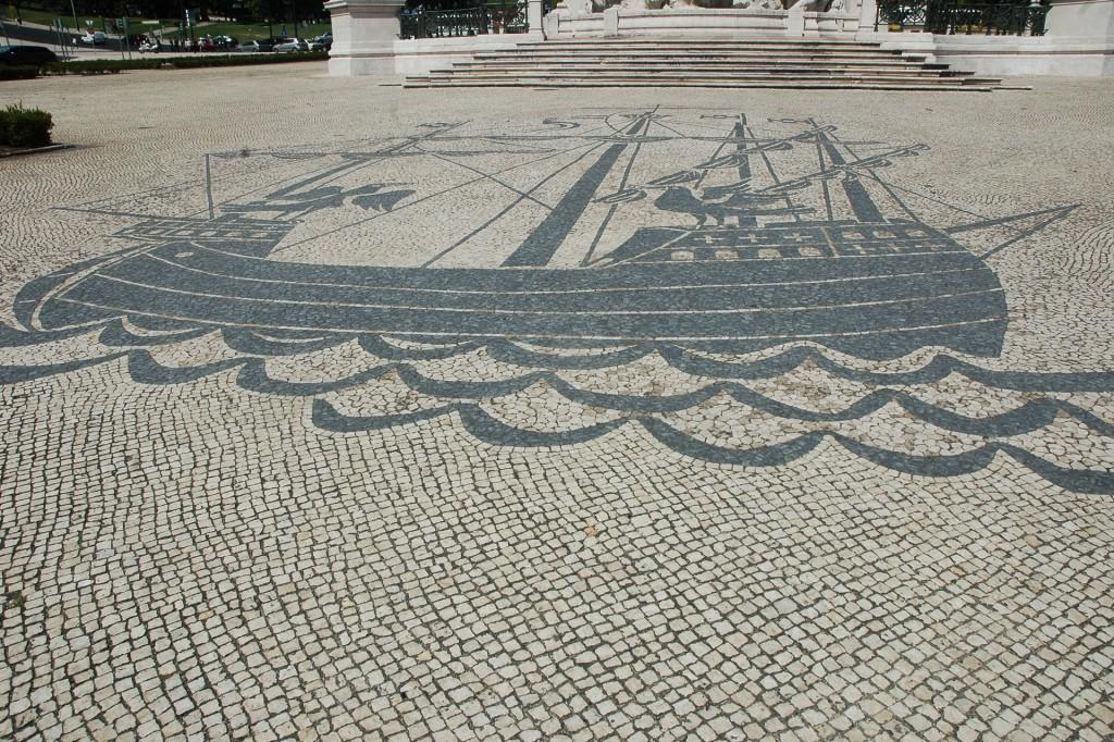 Calçada Praça Marquês de Pombal