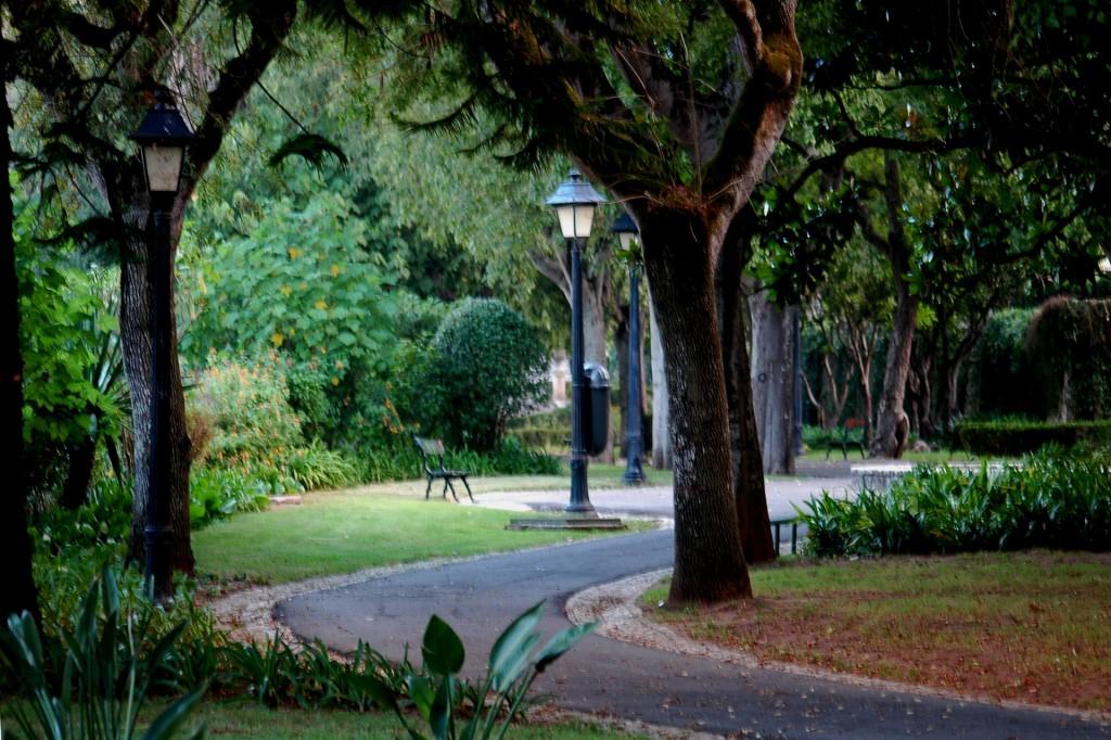 Caminho do Jardim Municipal de Oeiras