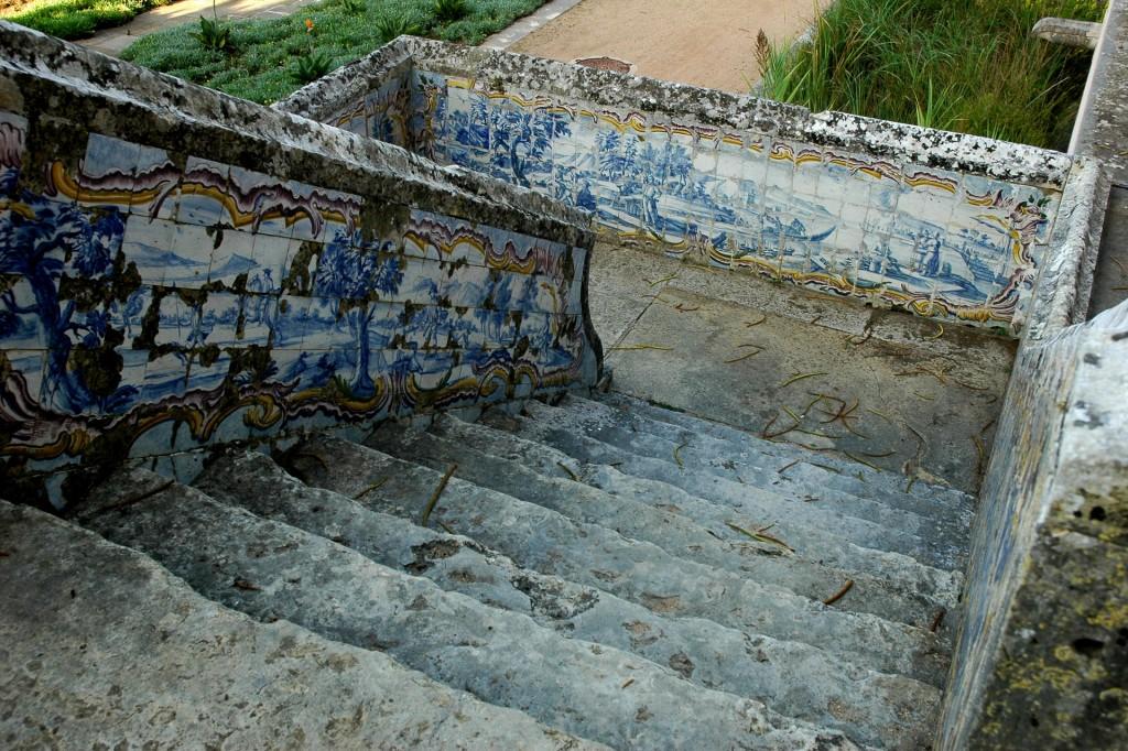 Escadaria do Palácio Marquês de Pombal