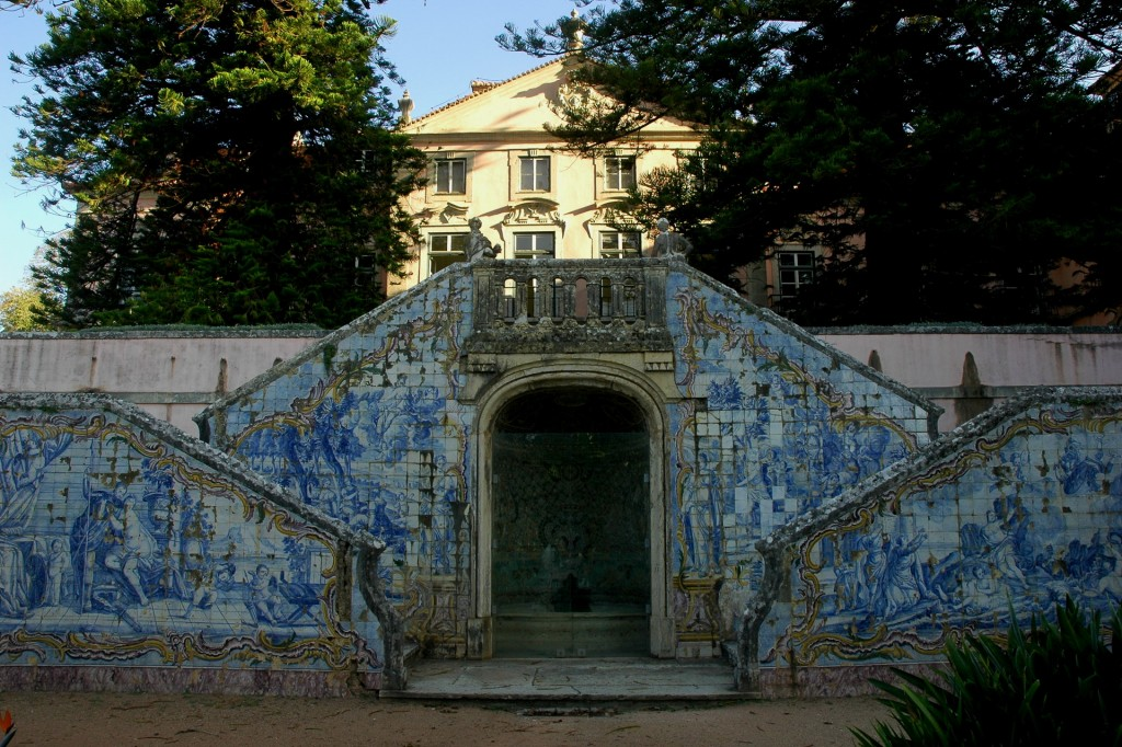 Escadaria do Palácio do Marquês de Pombal
