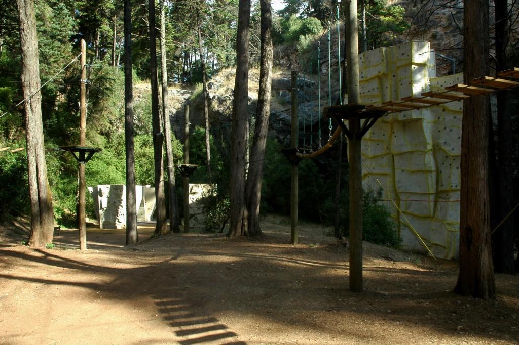 Instalaçoes para arborismo
