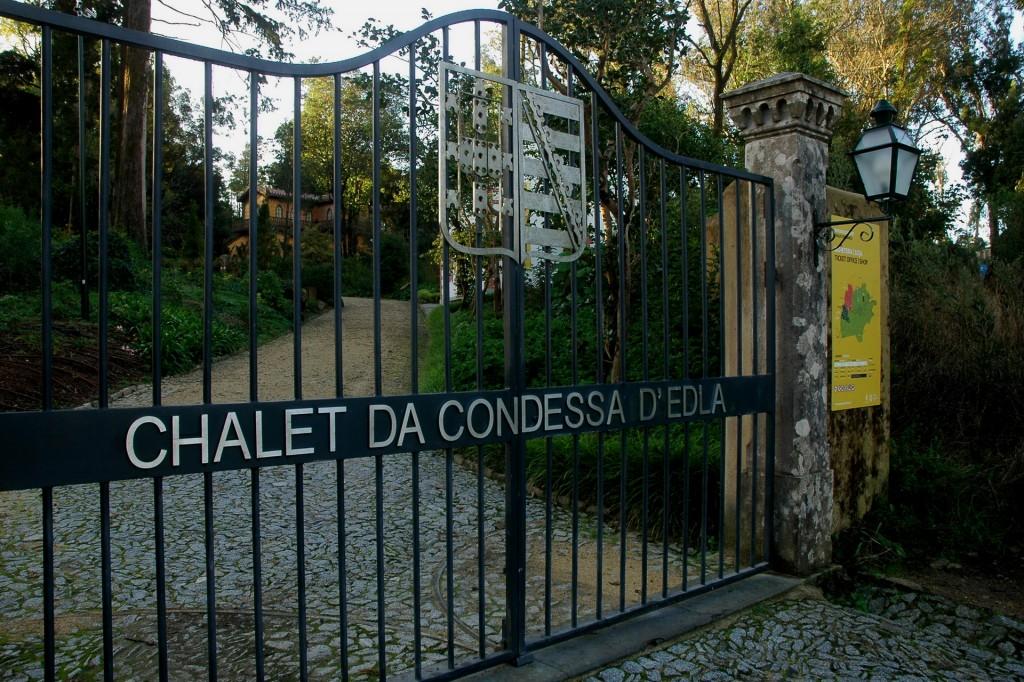 Entrada parque da Pena Chalet da Condessa d'Edla