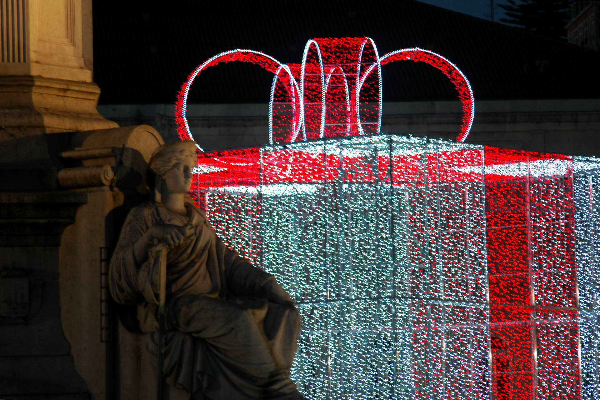 praça do comercio lisboa natal