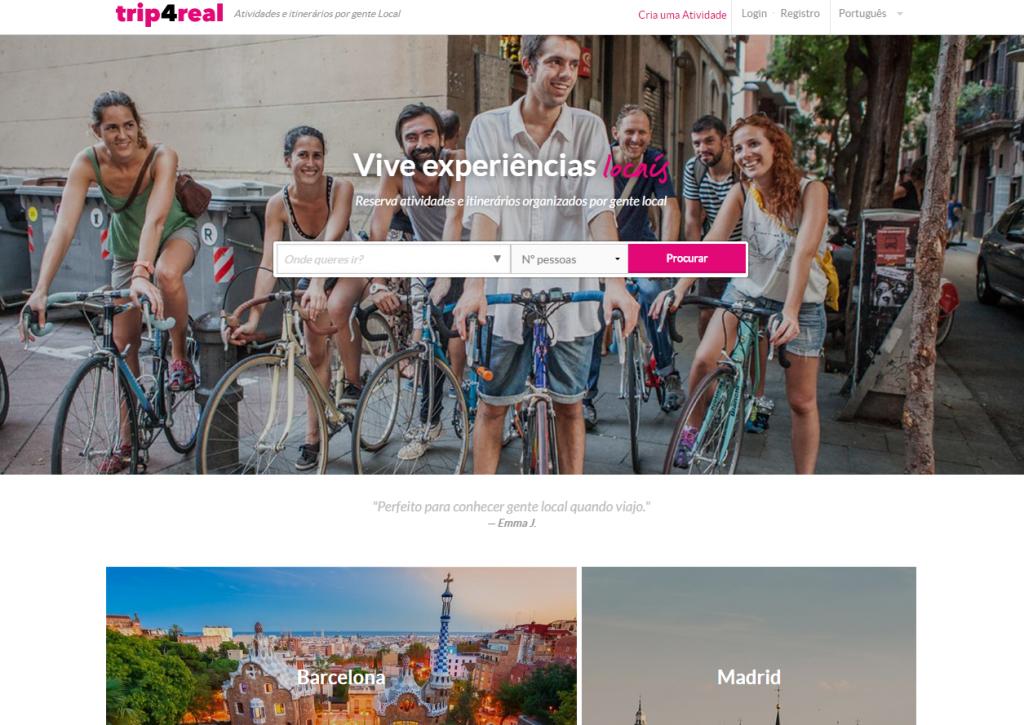 Website Trip4real